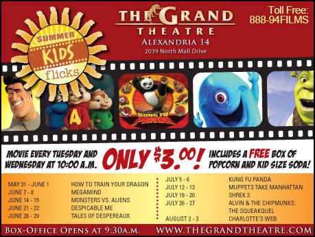 The grand theatre coupons